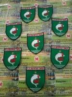 Badge bordir logo instansi kalimantan timur