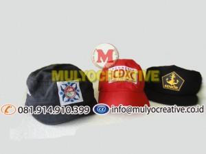 topi karyawan, topi sekolah, topi organisasi, topi pemerintahan, design topi sekolah bordir,topi karyawan bordir,t opi organisasi bordir