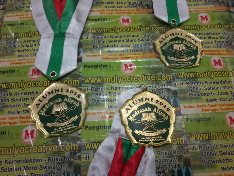 Pesan Medali Wisuda Gordon Wisuda Madrasah Aliyah