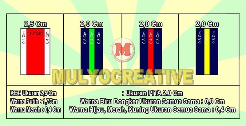 Info Grafis Ukuran Pita