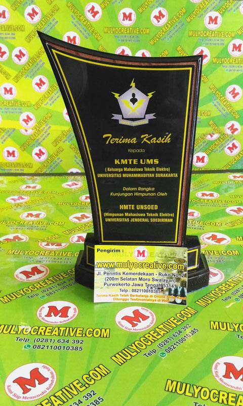 Contoh Plakat Kayu/ Vandel Kayu