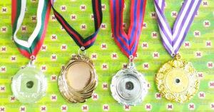 Contoh medali kosongan/ medali polos