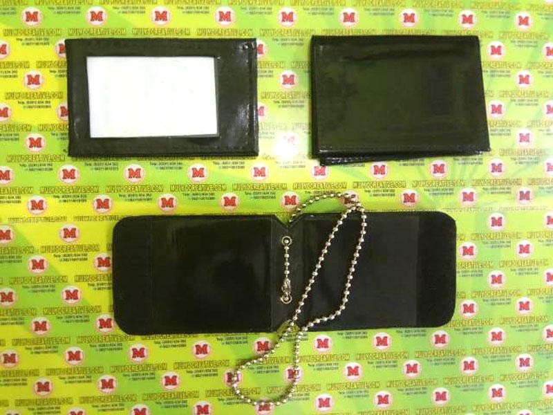 Berbagai bentuk dompet kalung lencana dan Dompet ID Card holder