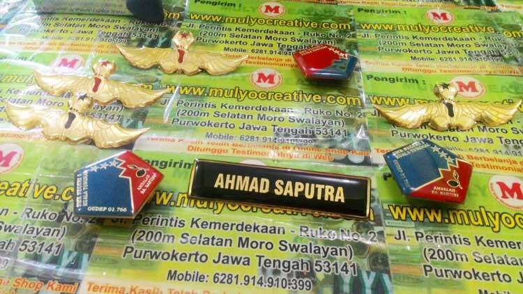Name Tag Pramuka, Lencana Pramuka, Wing Pramuka