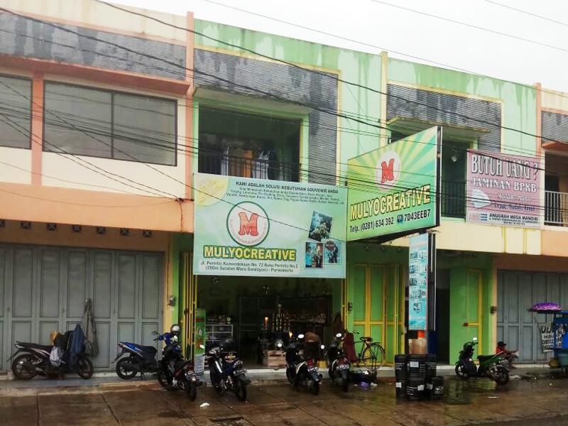 Kantor Mulyo Creative tampak depan
