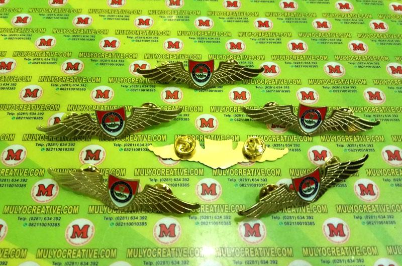 Pin Wing Forum Bela Negara, dengan desain dan bahan yang kokoh, full logam.