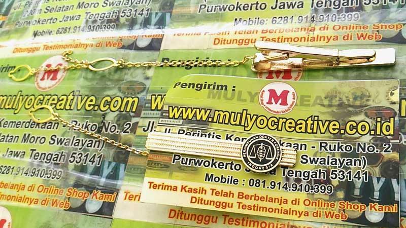 Jepit Dasi dengan Logo Perhimpunan Dokter Indonesia