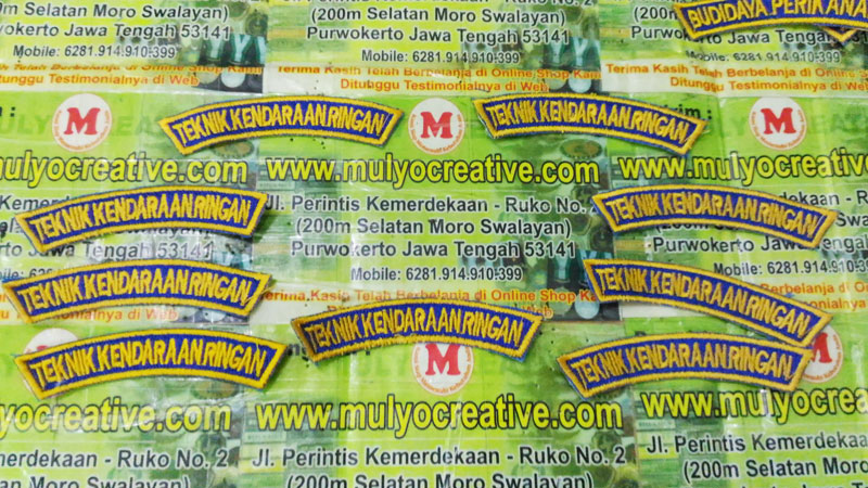 Jasa Bordir Online di MulyoCreative