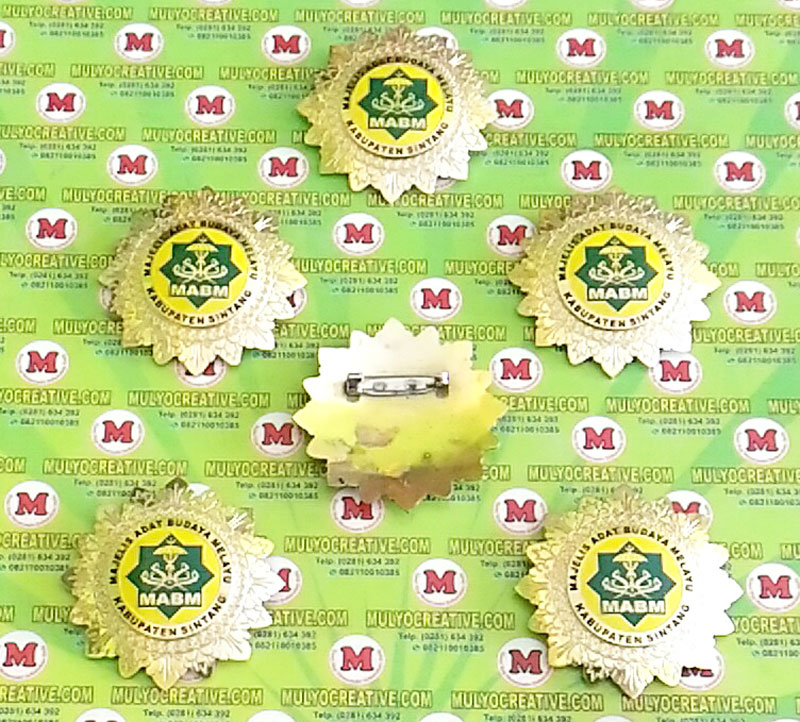 Pesan Pin Logo Majelis Adat Budaya Melayu