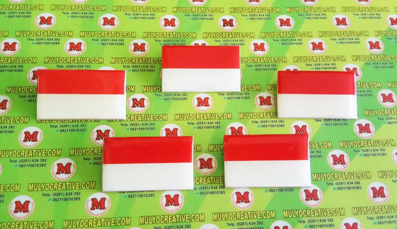pin bendera merah putih - mulyocreative.co.id