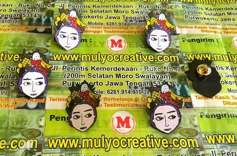 Pin Enamel Custom Mulyocreative