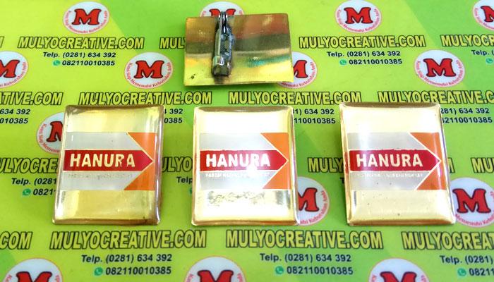 Pin Hanura, Lencana Pin Partai Hanura, Order dan Pesan sekarang juga di Mulyo Creative