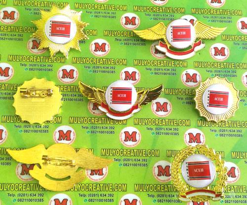 Beragam Model Pin PA, Lencana Pin Partai Aceh, Order dan Pesan sekarang juga di Mulyo Creative