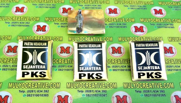 Pin PKS, Lencana Pin PKS, Order dan Pesan sekarang juga di Mulyo Creative
