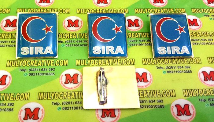 Pin SIRA, Lencana Pin Partai SIRA, Order dan Pesan sekarang juga di Mulyo Creative