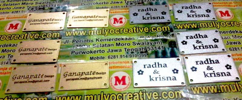 Label Tulisan Papan Nama untuk Mahar Pernikahan